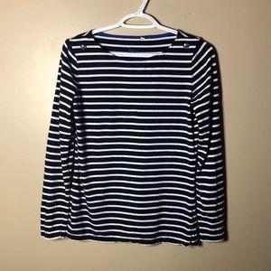 Boden stripes ahead nautical inspire shirt